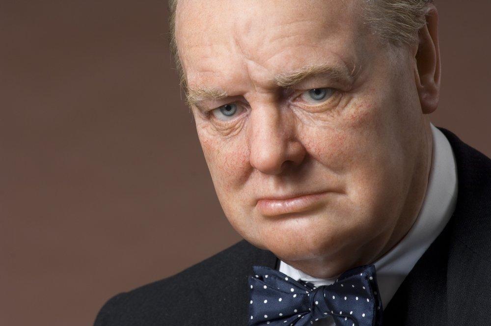 Winston Churchill Last Portrait