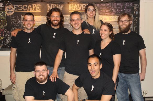 The Escape New Haven team.